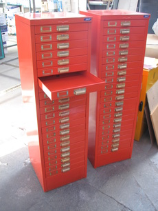 Powdercoating Retro Cabinets