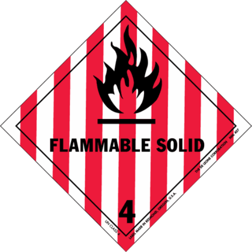 Class 4.1: Flammable Solids