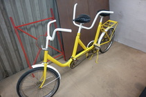 Bike powder coating